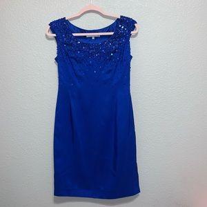 LK Bennett Silk & Sequin Dress